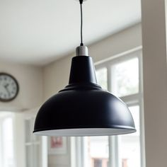 Large Black Pendant Light | Grace & Glory Home