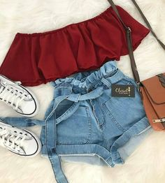 Jugendkleidung ( # Themed Wedding Shoes Article Body: T Cute Lazy Outfits, Teenage Girl Outfits, Cute Swag Outfits, Girls Fashion Clothes, Summer Fashion Outfits, Teenager Outfits, Cute Fashion, Outfits For Teens, Pretty Outfits
