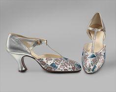 Shoes, Evening  Bob, Inc., N.Y. (American)  Date: ca. 1925