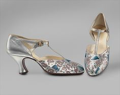 Shoes, Evening  Bob, Inc., N.Y.  (American)  Date: ca. 1925