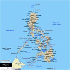 philippines | Political Map of the Philippines - World Sites Atlas