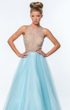 Beaded Ballgown by Terani Couture Prom 151P0181