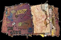 Examples of Art Journals | Kathyanne White: Art Fest 2011-Layered 3d Collage