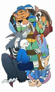 Black And Blue - Anuncio+Imagen - Página 2 - Wattpad Ben 10 Comics, Tmnt Comics, Tmnt 2012, Ninja Turtles Art, Teenage Mutant Ninja Turtles, Tmnt Swag, Dragon Rey, Feliz Gif, Tmnt Leo