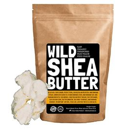 Organic Shea Butter  Unrefined Raw Virgin Fair Trade Handcrafted Extra Creamy Non Grainy Purest Grade A Perfect for homemade soap balms skin care lotions and hair products 8 ounce ** More info could be found at the image url.