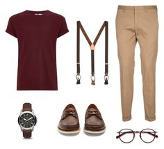 """""""Sem título #5"""" by giilerme on Polyvore featuring Topman, Paul Smith, Gucci, EyeBuyDirect.com, Brooks Brothers, men's fashion e menswear"""