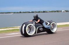 All-Electric TRON Lightcycle