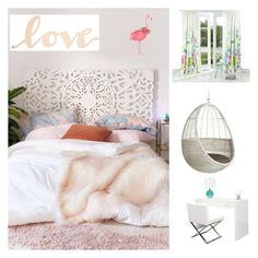 """""""Untitled #4"""" by margina-adelina on Polyvore featuring interior, interiors, interior design, home, home decor, interior decorating, Urban Outfitters, Primitives By Kathy, Ellen Crimi-Trent and Bluebellgray"""