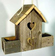 Birdhouse Wood Patterns - Rustic Barn Birdhouse Wood Plan