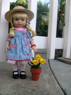 WANT!!! So SWEET! ©Mary Engelbreit Ann Estelle DaffodilI Girl sold via Home Companion Magazine 2001