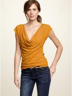 Great for over a nursing cami. You just pull the cowlneck to the side!