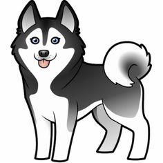 Shop Siberian Husky / Alaskan Malamute Love Case-Mate Samsung Galaxy Case created by CartoonizeMyPet. Puppy Drawing Easy, Husky Drawing, Alaskan Husky, Alaskan Malamute, Cartoon Dog, Cartoon Images, Husky Tattoo, Animals And Pets, Cute Animals