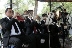 Banda Sinfónica de Coyoacán en el Bosque de Chapultepec. Foto: Abril Cabrera A.