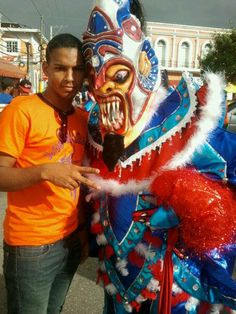 Carnaval. La Vega, República Dominicana.