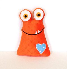 Hey, I found this really awesome Etsy listing at https://www.etsy.com/listing/206124312/love-monster-orange