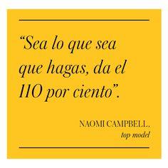 Naomi Campbell - El Palacio de Hierro