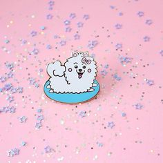 Hope you're all having a nice and lazy weekend like this Pomeranian pup is having! 😴💖 available via my Etsy 💖✨ #pomeranian #pinstagram #pingame #picame #thedesigntip #theyouthquake #cute #FTA #patchgame #kawaii #lapelpin #lapelpins #pinlord #design #pinlord #enamelpin #dog #enamel #hatpin #illustrator #illustration #drawing #cutekawaii #pintrill #pinoftheday #weareextinct #pin_post #pinparty #kawaiicute