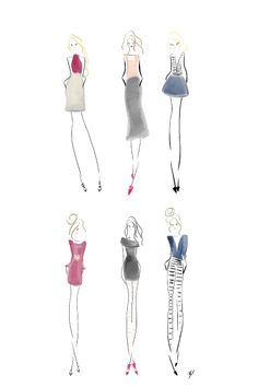 Interviewed by Acid Brights #fashionillustration