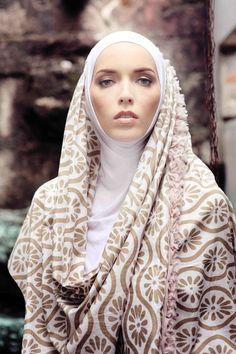 NurZahra 2011 'Heritage Indigo Batik' Collection beauty hijab, ideas for photo shoots, muslim, modest clothing, hijab style, fashion, хитжаб