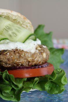 Lamb Burger! Yummy, yummy!