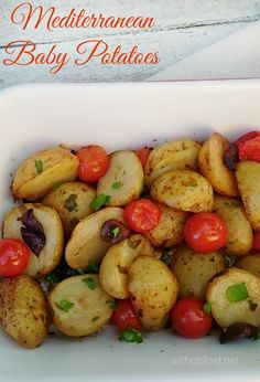 Bring the taste of the Mediterranean to your home with this scrumptious Baby Potato dish !