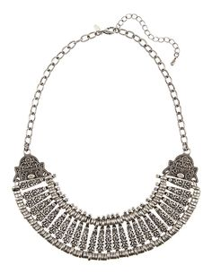 Patterned Collar Necklace | M&S