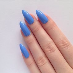 Periwinkle Blue Stiletto nails, Nail designs, Nail art, Nails,... ($17) ❤ liked on Polyvore featuring beauty products, nail care, nail treatments, nails, makeup, beauty, nail polish and fungal nail treatment