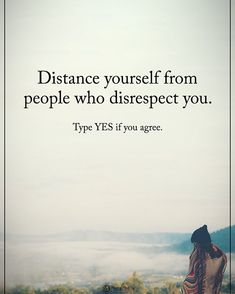 The more disrespectful you've been the further back you can step. Bye.