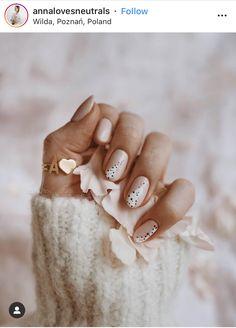 Nail Art Cute, Subtle Nails, Oval Nails, Minimalist Nails, Dream Nails, Stylish Nails, Perfect Nails, Acrylic Nail Designs, Nails Inspiration