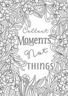 inspiring words colouring in page free printable Abstract Coloring Pages, Mandala Coloring Pages, Coloring Pages To Print, Coloring Books, Free Colouring Pages, Coloring Pages For Grown Ups, Printable Adult Coloring Pages, Colouring Sheets For Adults, Zentangle