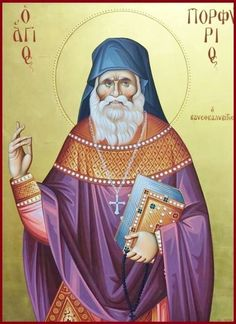 Saint Porphyrios: Love for Christ Orthodox Icons, Christ, Saints, Princess Zelda, Fictional Characters, Sf, Greece, Santos