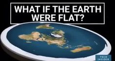 What if the Earth were flat