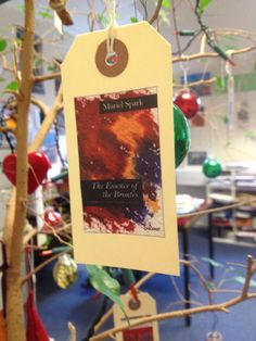 8th December - Muriel Spark - The Essence of the Brontes.  First published in 1993, this book collects Spark's essays on the Brontes, her selection of their letters and of Emily's poetry.