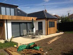 Dover Building & Property Maintenance: Feedback, Extension Builder, Loft Conversion Specialist, New Home Builder in Dover Cedar Cladding, House Cladding, Exterior Cladding, Bungalow Exterior, Bungalow Renovation, Bungalow Ideas, Bungalow Extensions, House Extensions, Bungalows