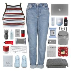 """oh my friend you haven't changed"" by acquiescence ❤ liked on Polyvore featuring Topshop, Motel, adidas, Estée Lauder, Fresh, Dogeared, philosophy, Pantone, Dermalogica and Crate and Barrel"