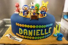 Pororo Band Cake