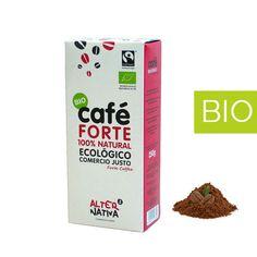 Café Forte BIO Molido 250 gr. Café Comercio Justo. Adecuado para el desayuno y la sobremesa.