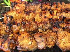 Hawaii's own version of barbecued chicken is cooked with Huli-Huli Sauce, made with pure Hawaiian brown sugar cane, soy sauce, fresh ginger and more.
