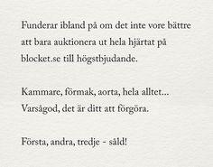 Utkast februari 2017 (Julia - alltid mitt i prick) Tough Love, Hard To Love, Swedish Quotes, Fantastic Quotes, Unusual Words, Different Quotes, Poetry Books, Quote Aesthetic, True Quotes