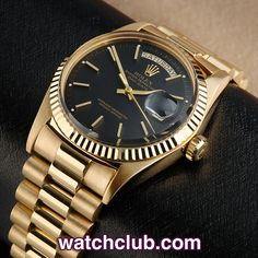"""Rolex Day-Date Vintage - """"Yellow Gold"""" REF: 1803/8 