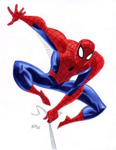 Spider-Man by Bruce Timm