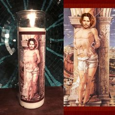 Saint Johnny Depp Prayer Candle - This is too funny!