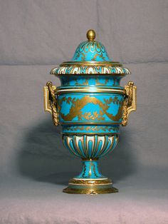 Turquoise French Vase, 1773 - The Walters Art Museum