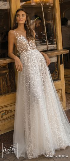 56907280d381 MUSE by BERTA Wedding Dresses 2019 - Barcelona Bridal Collection