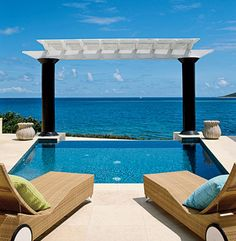 Private Residence in St. Croix, designed by Dorothy Draper & Co.