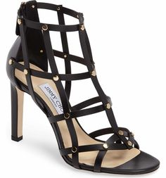 246a88a56f2 Main Image - Jimmy Choo Tina Cage Sandal (Women) Caged Shoes