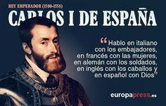 Genealogía, biografía y siete frases de Carlos V, el Rey Emperador