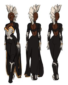 Fashion and Action: Mohawk Storm Redux - Costume Re-Design by Kris Anka