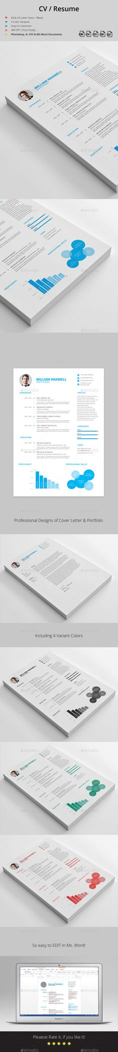 Glory Resume Perfect resume, Resume cv and Cv template - size font for resume