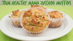 Zucchini Muffins - S Breakfast or Snack ~~Good baked as a bread!